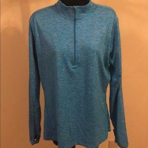 Women's Nike Dri-Fit quarter Zip Pullover Large